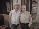 Todd Novak and Ralph Stanley