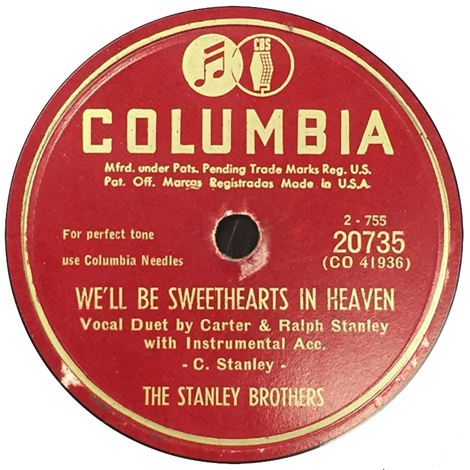 We'll Be Sweethearts In Heaven