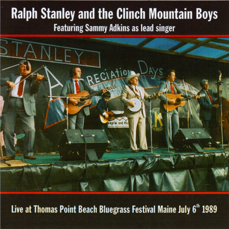 Live At The Thomas Point Beach Bluegrass Festival, Maine 1987