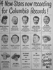 Billboard advert 30th April 1949