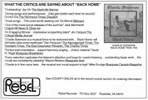 Bluegrass Unlimited album advert Nov. 1993