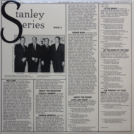 Stanley Series, Vol. 2 No. 4