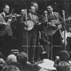 Newport 1964 L-R: Red Stanley (fiddle), Ralph, George Shuffler and Carter.