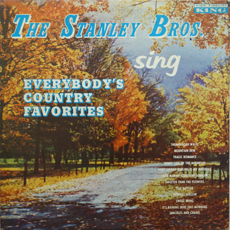Sing Everybody's Country Favorites (Mono)