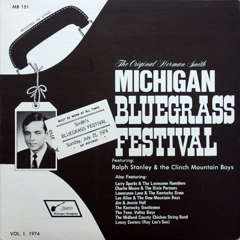 Michigan Bluegrass Festival Vol. 1 1974