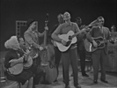 Pete Seeger with Cousin Emmy and the CMB's