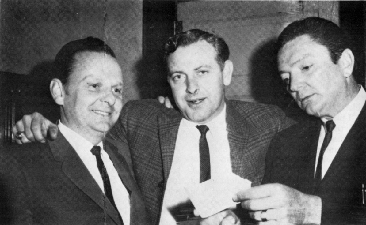 Ralph, Paul 'Moon' Mullins and Carter - early 1960s